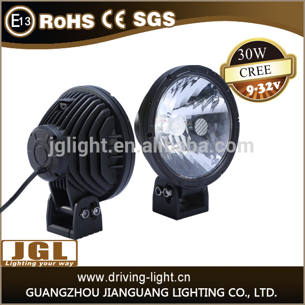 Hot new led work light 30w cree led driving light 7inch led work lamp light for cars,auto parts,atvs