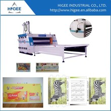 ZSY flexo rotary printing machine with 4 colors chain feeding carton printing machine