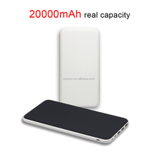 consumer electronics small size portable charger power bank 20000mah with safety LED touch for mobile phone accessories