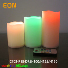 C702 3sets Very cheap 18keys Remote LED candle