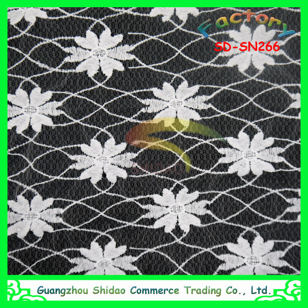 african net silk embroidery lace fabric wholesale