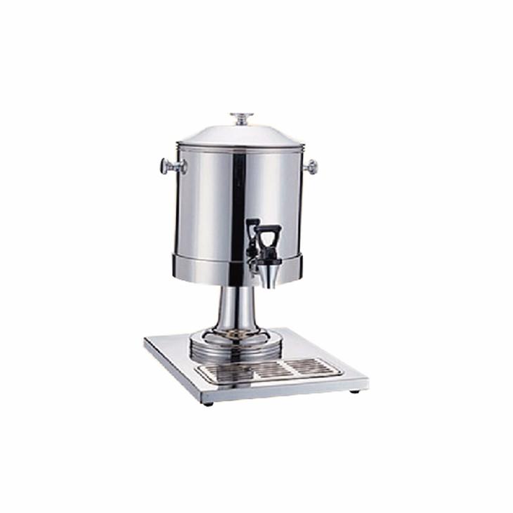 MUK professional restaurant supplier high quality drinkware silver milk bucket drink dispenser