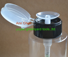 Plastic nail polish remove pump bottle from yuyao