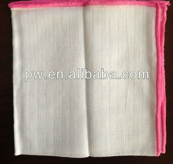 100%Cotton Gauze Wash Cloths Face Cleaning Towel