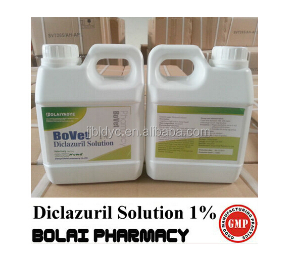 anti coccidiosis drugs Diclazuril solution 0.5%