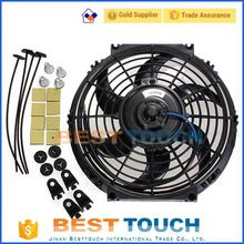 "Universal Auto Parts 12V/24V/80W/7""/9""/10""/12""/14""/16"" electric cooling auto radiator fan"
