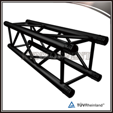 black aluminum spigot square truss