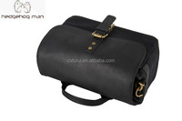 2015 Fashion HEDGEHOG MAN Vintage Leather Photo Camera Bag