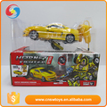Custom design love gift variability yellow with robot new bright rc cars