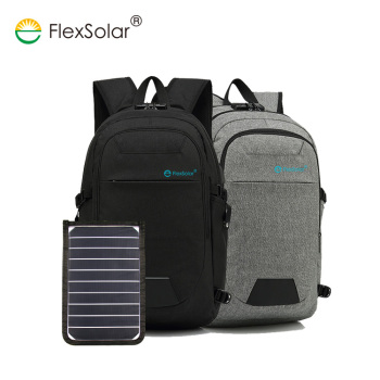 Rechargeable Portable Outdoor Travelling Camping Solar Handbag with Solar Panel Charger