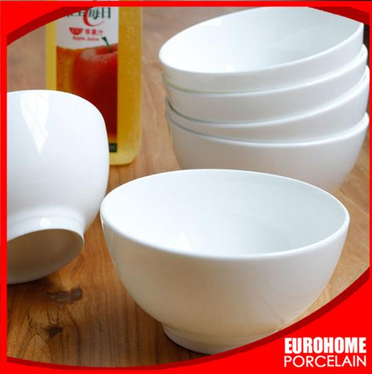 guangzhou wholesale custom hotel restaurant banquet wedding ceramic large cereal bowls