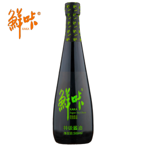 500ml Premium gluten-free low salt light soy sauce