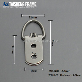 Factiory price supplier triangle 2 holes frame hook hanger