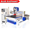 China Linear ATC Cnc Router 1325 Cnc Engraving with Cnc Machine Belt Chip Conveyor