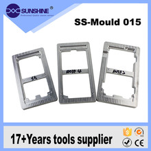 New LOCA UV Glue Alignment metal Mold LCD refurbish Glue removing machine Mold For iPhone 4 4S 5 5S 6 6Plus