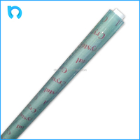 crystal soft light blue recycled plastic film