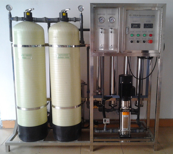 KYRO-1000L/h High quality ISO CE SGS approved tank water filter 5 stages