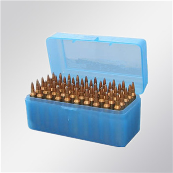 50 Round ammo case ammunition box shotshell case for ammo reload (TB-908)