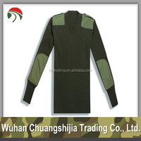 High Quality Acrylic Camouflage Military Pullover