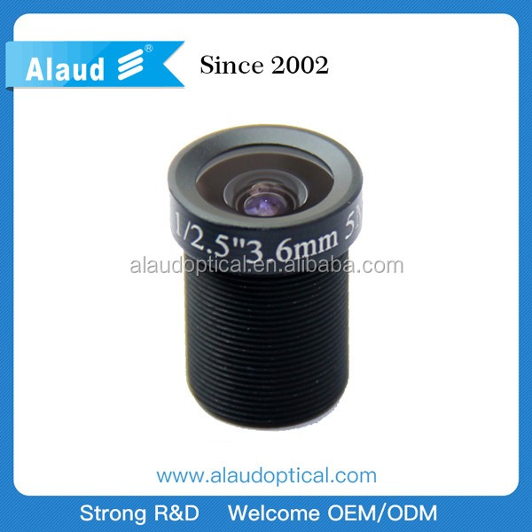 optical camera lenses 3.6mm megapixel m12 cctv lens m12 board lens