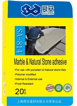 Large Tile and Stone Mortar White