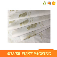 Cheap customized tissue paper with company logo