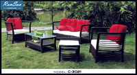 Hot New Wholesale Market Leisure Ways Rattan Outdoor Furniture