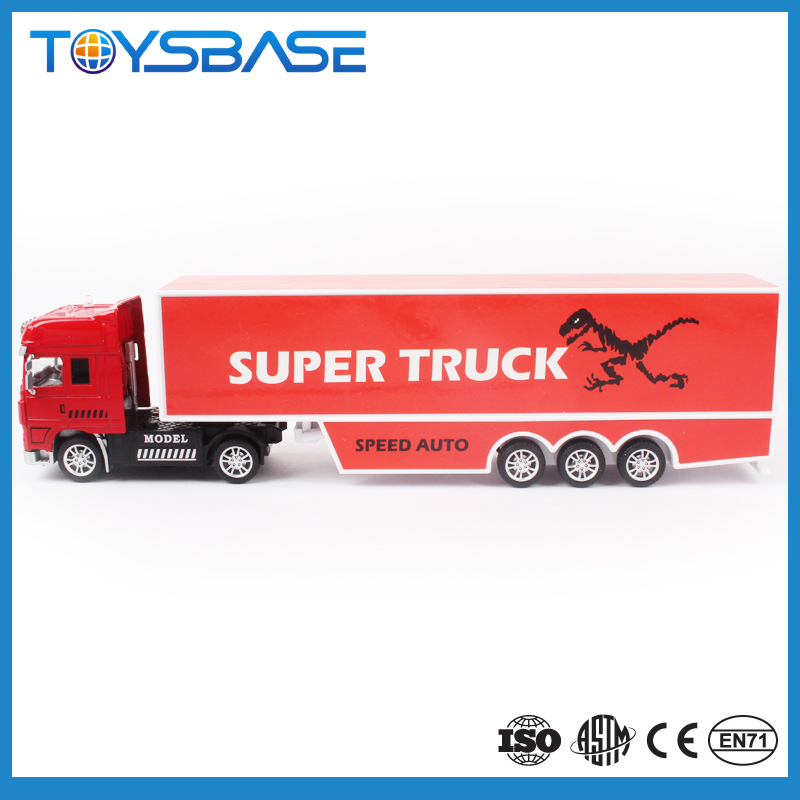 Free Promotion Product Customized Logo OEM Designed Custom Alloy Model Truck Diecast Toy Car