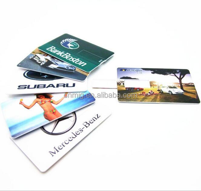 China Factory Custom USB Business Card Flash Drives Disk