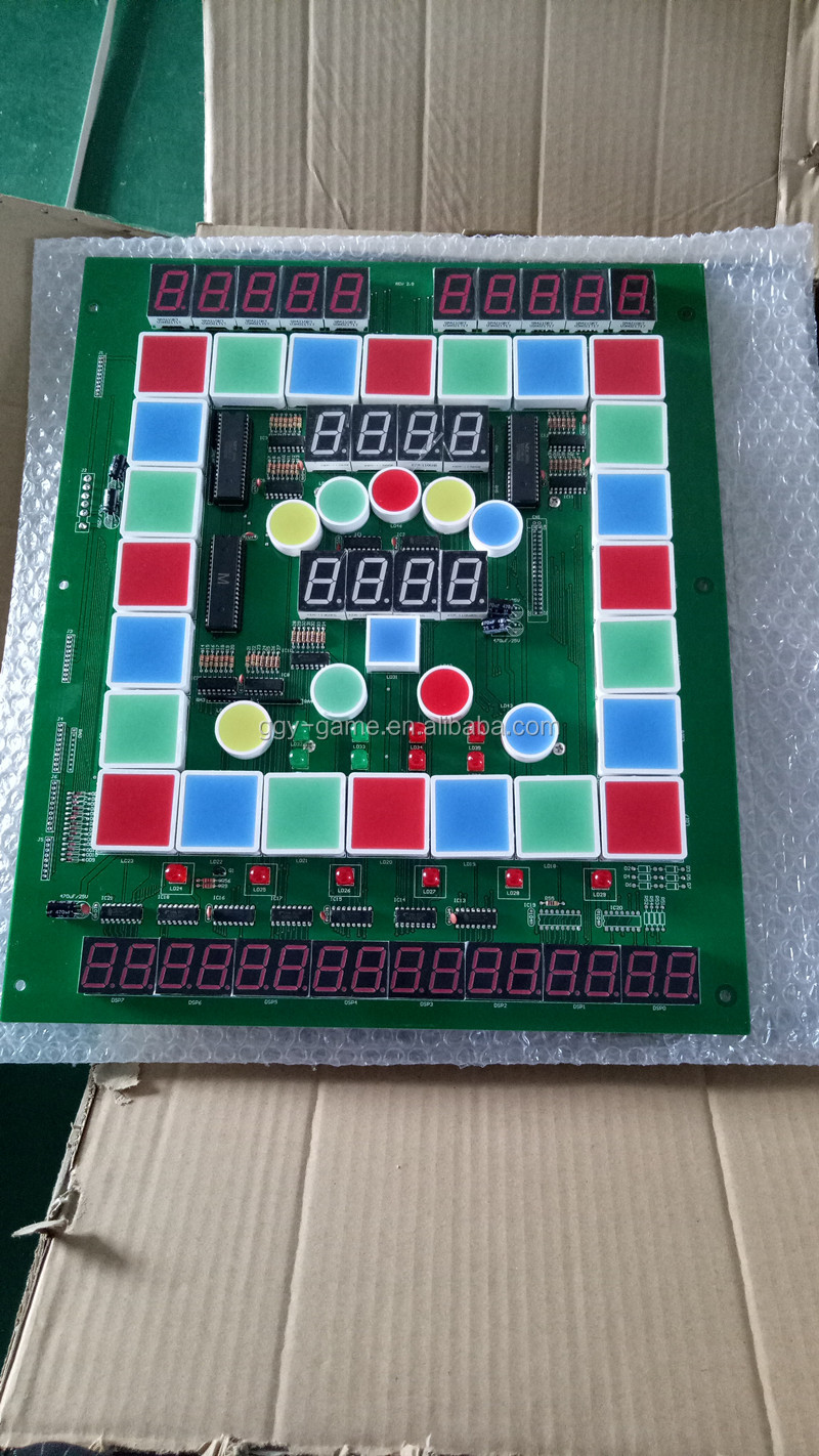 PCB board fruit king table game board coin operated super south america hot sale Mario slot machine kits
