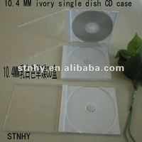 10.4mm viory tray single jewel CD case