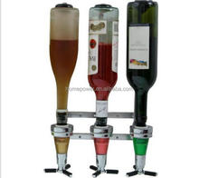 Bar Butler 3 bottles Wall Mounted Wine Alcohol Liquor Shot Dispenser