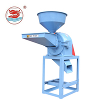 WANMA6114 Hot Sale Chicken, Animal Farm Poultry Feed Crusher And Mixer Hammer Mill