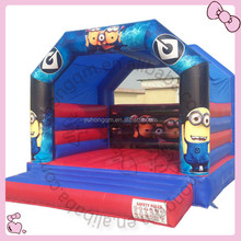 Extremely hot inflatable Tim Stuart Dave yellow man bouncy house minions bouncing castles