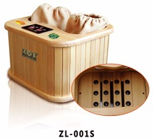 far infrared wooden 1 person hot foot tub for fee ZL-001S