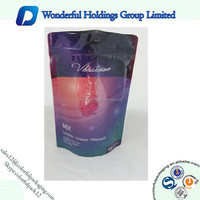 2016 New Products Dog or Cat Food Foil With Clear Window Stand Up Pet Food Bag