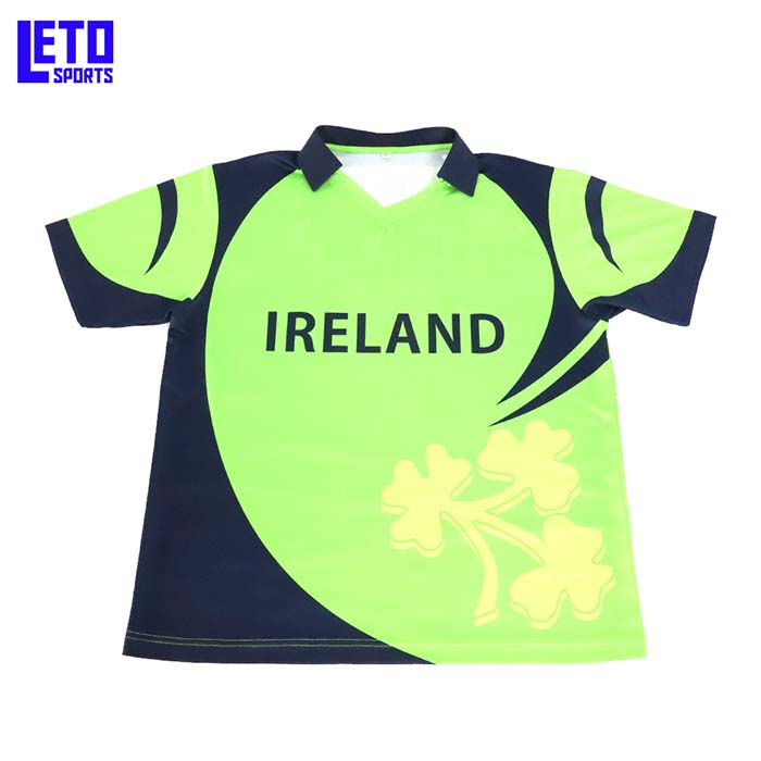 Cheap Clothing China Wholesale Full Sublimation Crew Neck Cricket Shirts