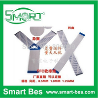 Free shipping bySGP~Smart Bes! Custom made 100pcs/lot FFC/FPC flexible cable 4P/6/8/10/11/12/13/20/30/40/50pin 0.5/1.0mm spacing