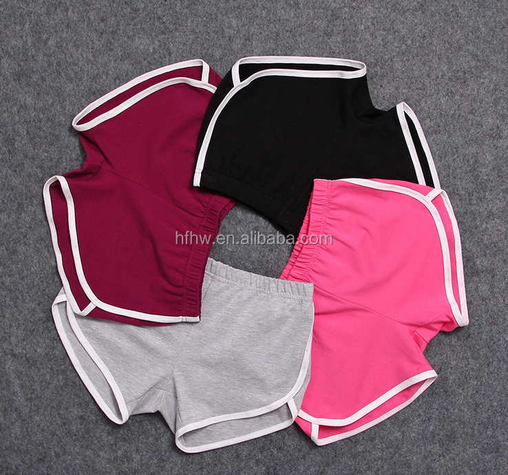 W11253G 2016 new European home shorts female beach pants yoga fitness casual cotton pants Ms.