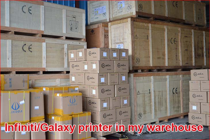 printer in warehouse