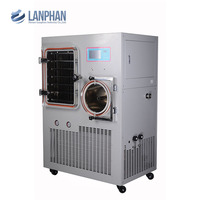 Mini lab vacuum freeze dryer lyophilizer for industrial and foood