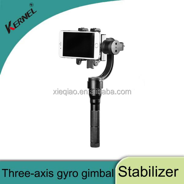 Kernel 3-Axis gimbal Handheld steadycam Camera Gimbal Stabilizer for smartphone and sports camera