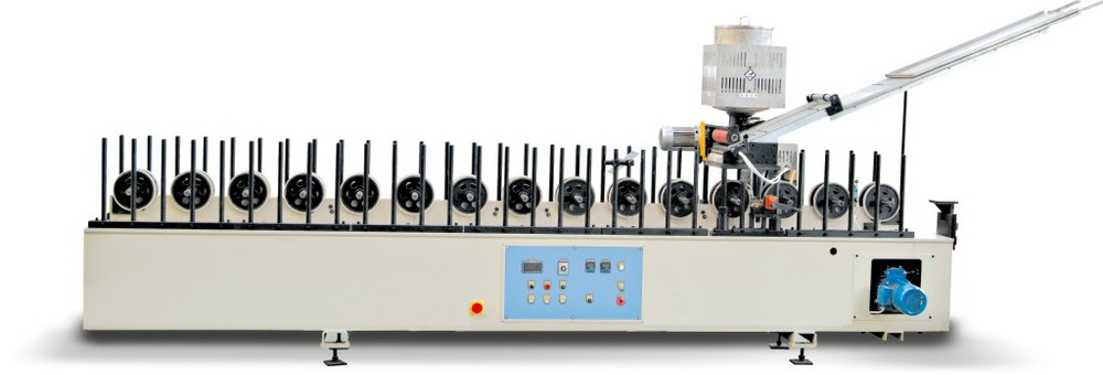 High Standard PVC Film Surface covered hot melt laminating machine