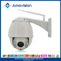 Amovision Q9540R wifi H.264 onvif 1080P pan Tilt IR 30m 4X Zoom ptz wireless dome hikvision ip camera