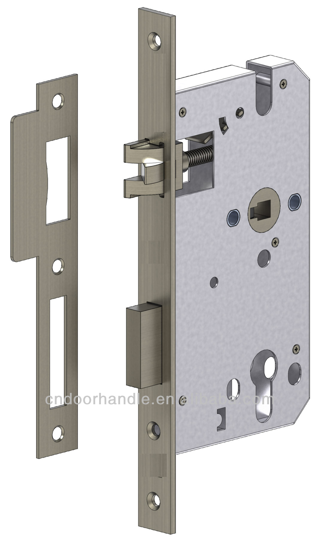 China made european mortise security door locks7260 3 latch