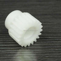 small pinion teflon plastic gear for electric motor