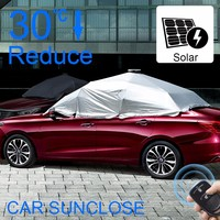 SUNCLOSE Factory car accessories shops cars umbrella motor driven day and night anti glare car sun visor