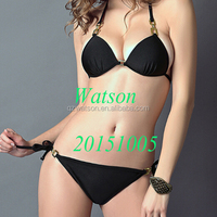 New Fashion triangle bikini with elacstic string