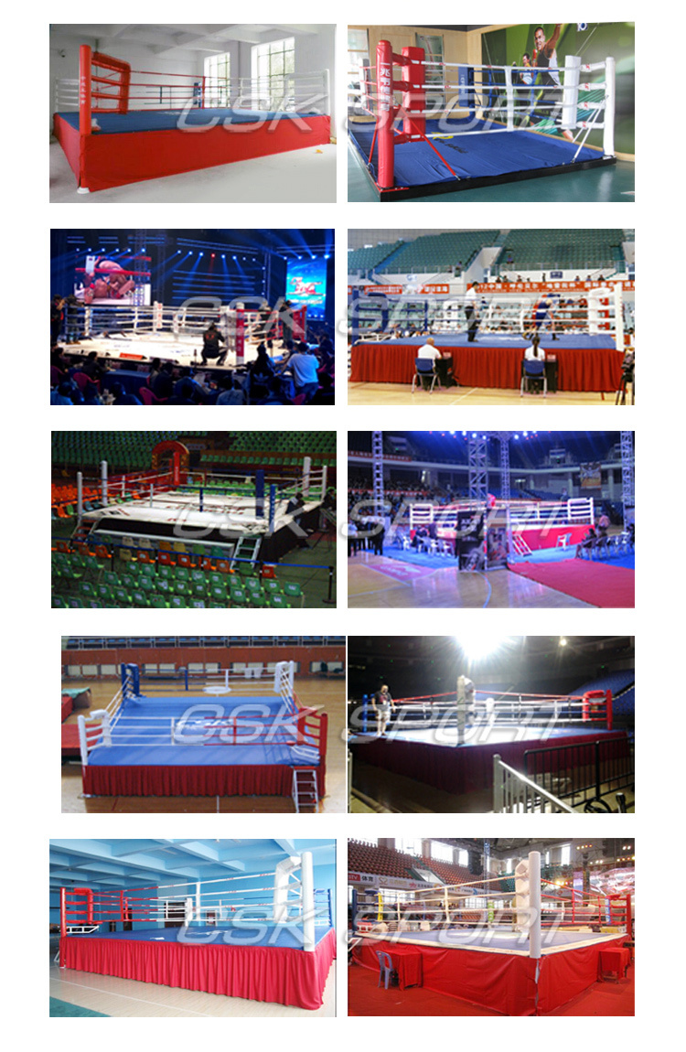Floor Boxing Ring Club Boxing Ring