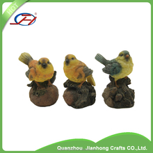 wedding garden statues crafts wholesale gift resin bird figurines